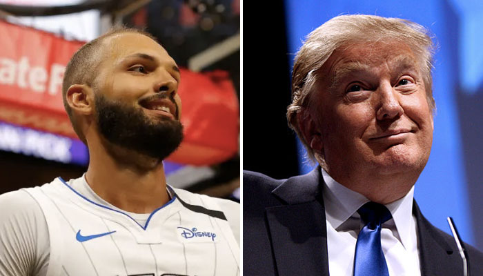 Evan Fournier en NBA se moque de Donald Trump