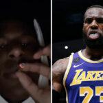 NBA – Bronny dérape encore sur Instagram, les fans chauffent LeBron !