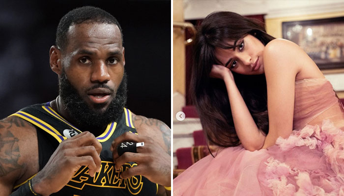 LeBron James Camila Cabello Floride