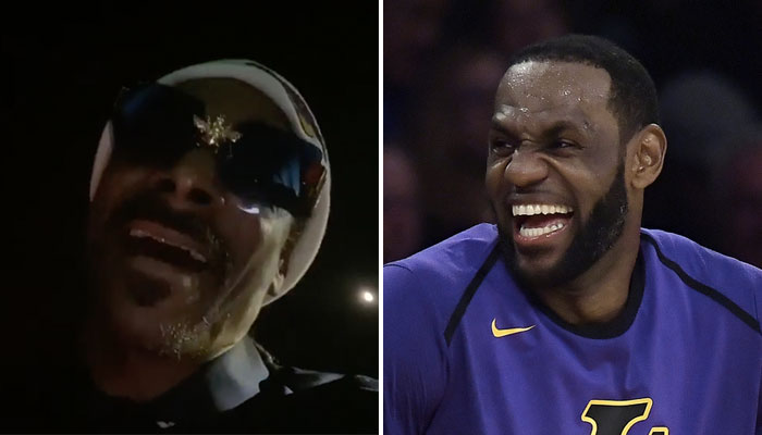 Snoop Dogg chante une chanson contre les Nuggets en NBA