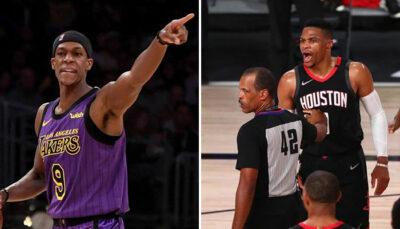 NBA – Rajon Rondo cash sur son passif avec Russell Westbrook