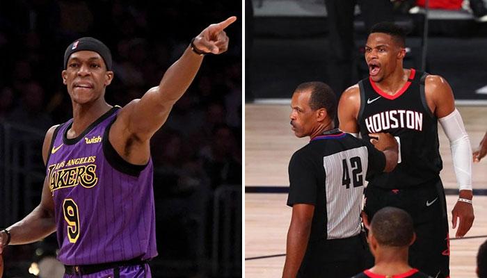 Rajon Rondo réagit à l'embrouille de son frère... et incrimine Westbrook