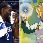 NBA – Twitter se déchaine après le contre à un doigt de Kawhi Leonard !