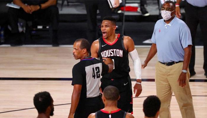 Russell Westbrook s'agace avec le frère de Rajon Rondo NBA