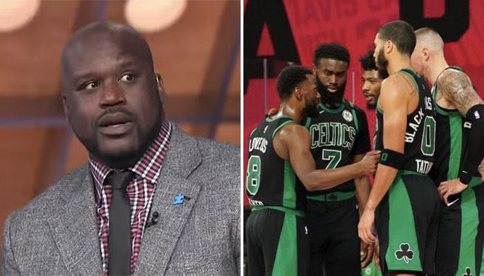 NBA - Le joueur actuel des Boston Celtics... que Shaq ne connait pas