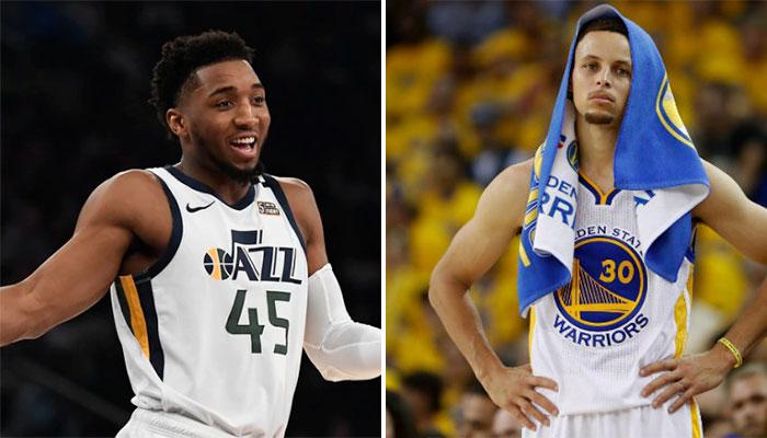 Donovan Mitchell fait mieux que Steph Curry dans l'histoire des playoffs NBA