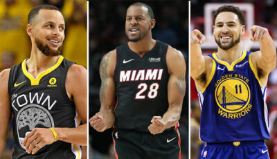 NBA – Les messages de Steph Curry et Klay Thompson pour Andre Iguodala