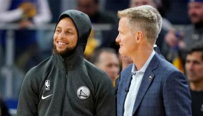NBA – Le domaine inattendu où Steph Curry s'est sérieusement amélioré selon Steve Kerr
