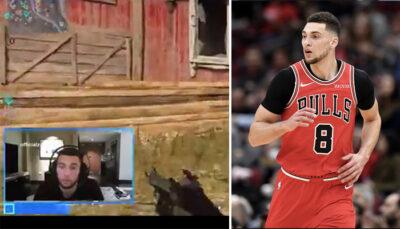 NBA – La réaction virale de Zach LaVine qui apprend le nouveau coach des Bulls… en plein COD