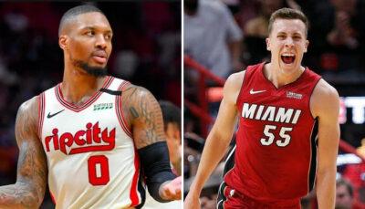 NBA – Damian Lillard affligé par un tweet pro Duncan Robinson
