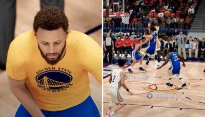 NBA – Le sublime premier gameplay de 2K21 « next-gen », et l'énorme poster de Zion