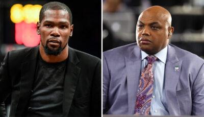 NBA – Pourquoi Kevin Durant avait la haine contre Barkley hier