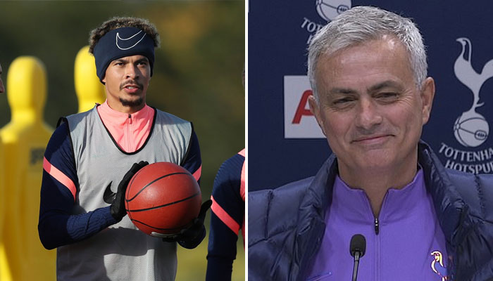 Jsé Mourinho demande à ses joueurs de jouer au basket à l'entrainement