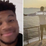 NBA – Giannis ne lâche plus son frère après le titre des Lakers !