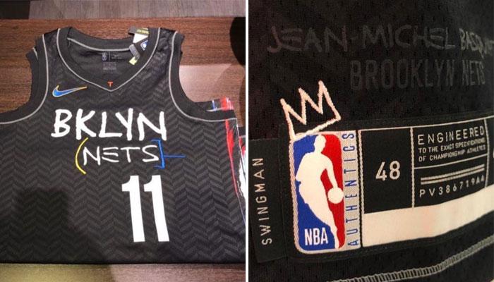 Le nouveau maillot des Nets, en hommage à Jean-Michael Basquiat