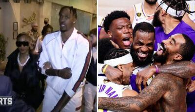 NBA – Les images de la nouvelle fête des Lakers… à Hollywood !