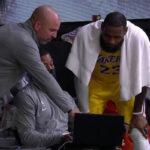 NBA – LeBron ridiculisé en plein match par les commentateurs US