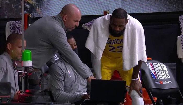 Jason Kidd et LeBron James concentré lors des Finales NBA