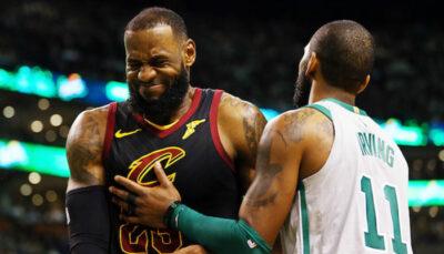 LeBron James blessé par les propos de Kyrie Irving NBA
