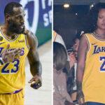 NBA – LeBron James bluffé par une étonnante photo de Rihanna