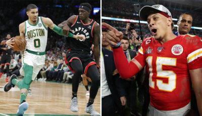 NBA – La mégastar NFL Patrick Mahomes drague une franchise