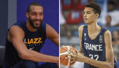 NBA – Wembanyama signe un contrat prometteur, Gobert et Fournier réagissent !