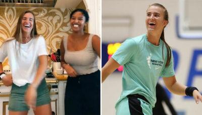 NBA – Vanessa Bryant et sa fille s'éclatent avec Sabrina Ionescu dans une vidéo virale