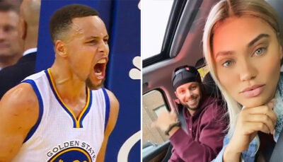 NBA – Steph Curry réagit à la photo incendiaire de sa femme