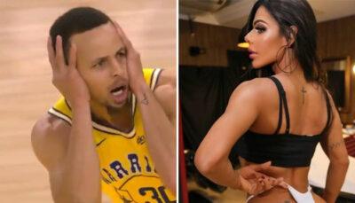 NBA – Miss Bum Bum, la sulfureuse supportrice des Warriors