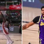 NBA – Anthony Davis se fait violemment contrer… par un arrière !