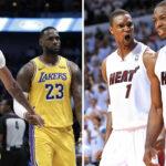 NBA – Chris Bosh pas d'accord avec Wade sur AD et LeBron