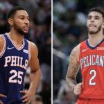 NBA – Lonzo Ball et Ben Simmons s'entraînent ensemble… et se font ridiculiser
