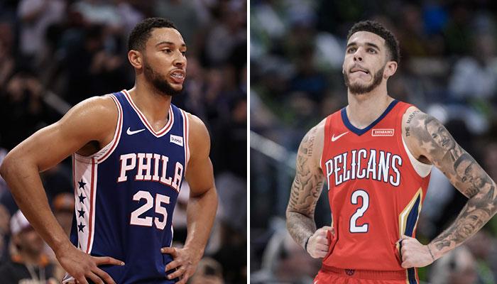 NBA - Lonzo Ball et Ben Simmons s'entraînent ensemble... et se font ridiculiser