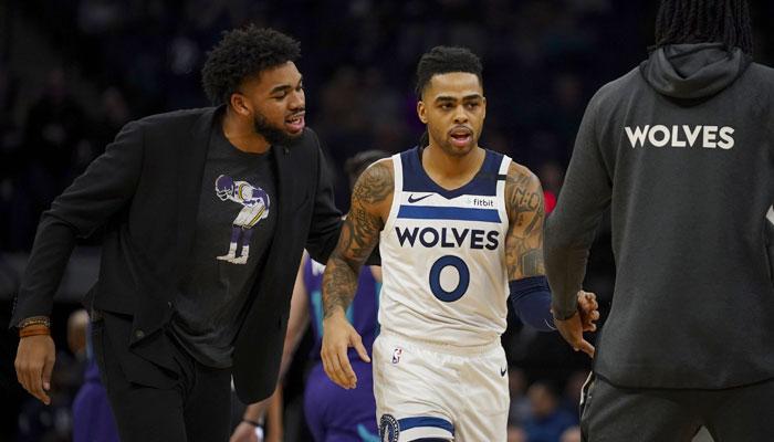 """Le plan """"win now"""" des Wolves autour de KAT et D-Lo NBA"""