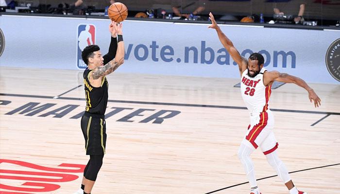 Le tir de Danny Green dans le final du Game 5 NBA