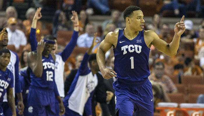 L'arrière de la Texas Christian University, Desmond Bane, sur le radar des Los Angeles Lakers pour la Draft 2020