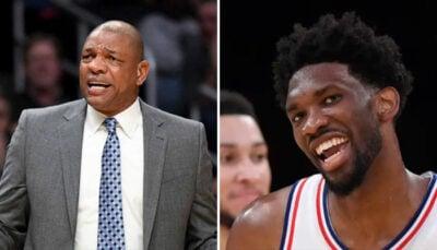 NBA – Doc Rivers à peine nommé coach des Sixers, Joel Embiid trolle !