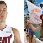 NBA – Affichée, la copine de Duncan Robinson le met dans l'embarras