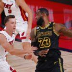 NBA – La séquence cocasse au petit déj entre LeBron et Duncan Robinson