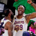 NBA – 2 free agents que les Lakers veulent conserver, dont un particulièrement