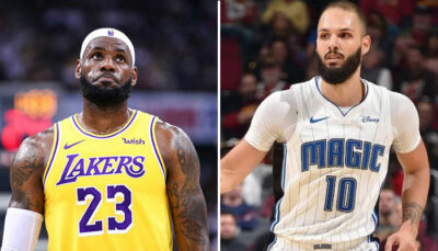 NBA – Evan Fournier tacle l'attitude des Lakers à chaque match
