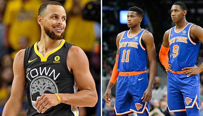 Deux insiders proposent un trade entre les Warriors et les Knicks