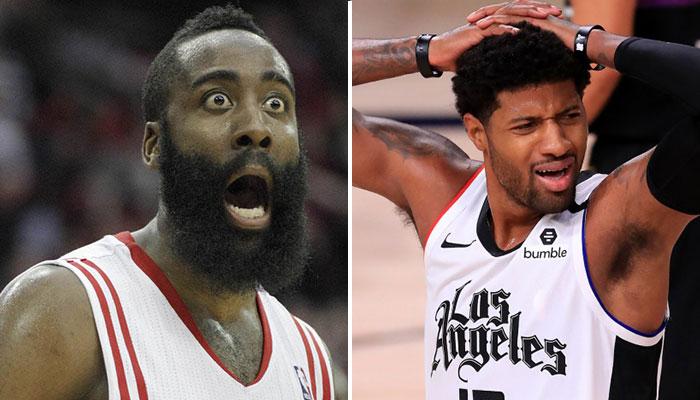 Un trade de James Harden et Paul George envisageable par les Clippers et les Rockets ?
