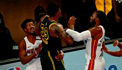 NBA – Après une bataille au rebond, Butler et Howard se chauffent violemment !