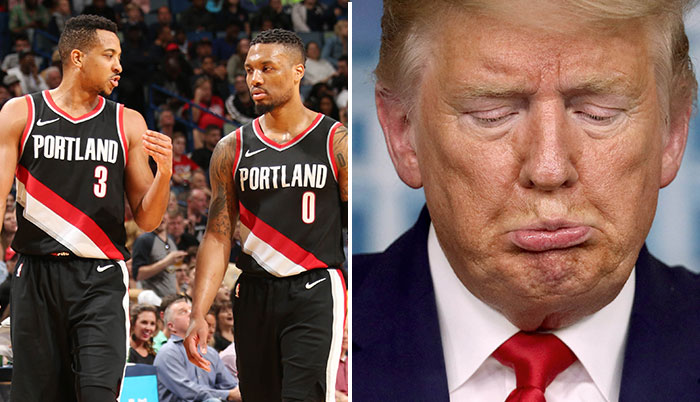 Donald Trump positif au coronavirus : les joueurs réagissent