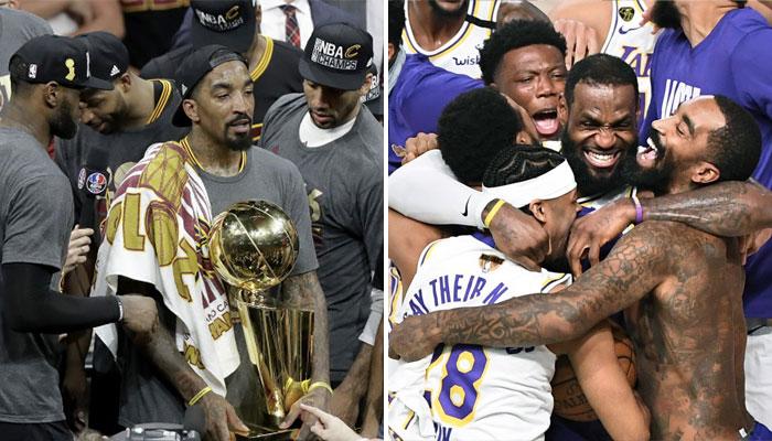 NBA - Lakers 2020 ou Cavs 2016 ? JR Smith tranche !