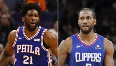 NBA – Un grand favori se détache pour Sixers et Clippers !