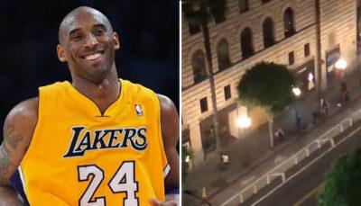 NBA – Hommage à Kobe… et arrestations de fans dans les rues de Los Angeles