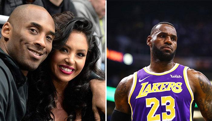 Le message envoyé par Vanessa Bryant à LeBron James et aux Lakers