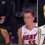NBA – Kuzma vulgairement recadré par un joueur du Heat en plein match